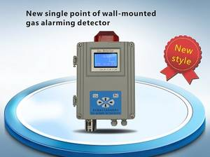 Wholesale gas alarm: New Single Point of Wall-mounted Gas Alarming Detector