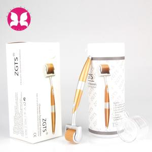 Wholesale acne pore removal: High Quality Derma Rolling System Microneedle Titanium Derma Roller Zgts 192
