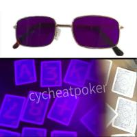 Anti Cheat Poker White Light Marked Card and Poker Contact Lenses