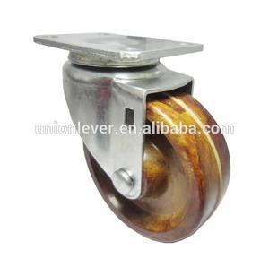 Wholesale Furniture Casters: Plate Swivel Light Caster of 300 Degree C