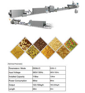 Wholesale breakfast: Corn Flakes/Breakfast Cereals Processing Line