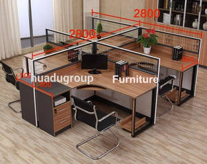 Wholesale executive office desk: Office Desk for 4 People