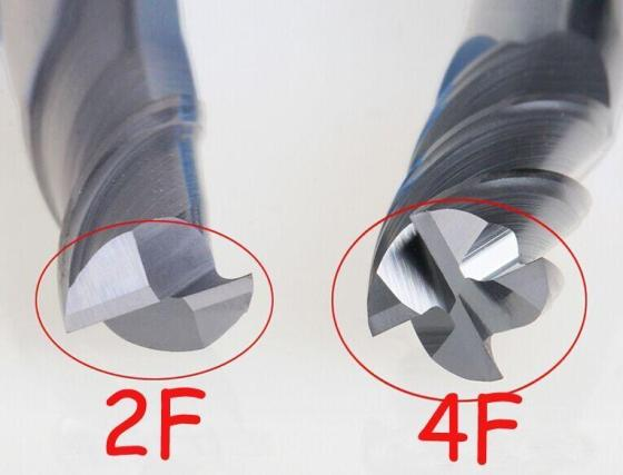 Sell 2 and 4 Flute Carbide End Mill Tungsten Carbide End Mill