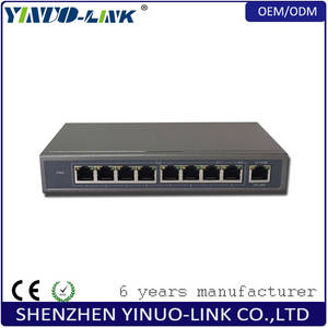Wholesale recovery card: 100Mbps 8 Ports Unmanaged PoE Switch