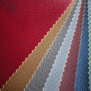 Wholesale pvc bag: PVC Artificial Leather Lichee Vinyl Fabric for Sofa Furniture Car Seat Bags
