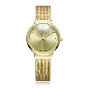 Wholesale fashion watch: Small Gold Watch Fashion Slim Hand Chain Watch Korean Version