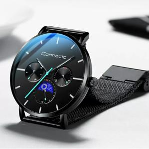Wholesale Watches: Fully Automatic Mechanical Watch Korean Trend Simple Quartz Waterproof Men's Watch
