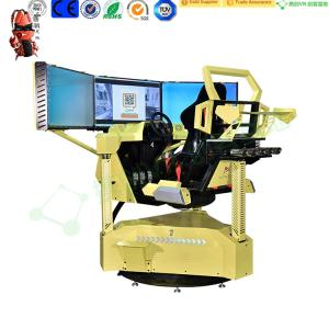 Wholesale video game machine: Three Screen Racing Car Video Game Driving Simulator Machine City Car Driving Simulator
