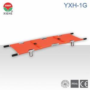 Wholesale aluminum alloy stretcher: Aluminum Alloy Folding Stretcher YXH-1G