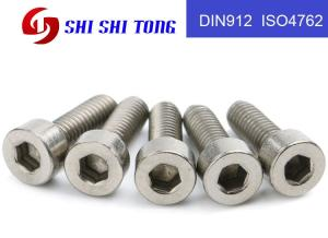 Wholesale titanium fastener: OEM & ODM TA2 GR2 Allen Head Cap Hex Hexagon Socket Titanium Fastener Screw