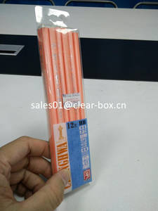 Wholesale plastic pencil: China Manufacturer Attractive Design Plastic Clear Pencil Box
