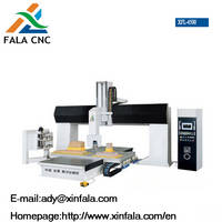 5 Axis Engraving Machine CNC Router for Woodworking, Mold, Acrylic and PVC (XFL-4500)