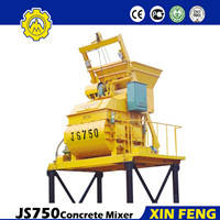 Wholesale electric concrete mixer: China Suppliers Electric Concrete Mixer China or Cement Mixer JS750 Mini Concrete Mixer Trucks