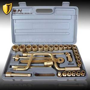 Wholesale steering universal joint: Non-sparking 1/2 Socket Copper Socket SETS-28 Pieces