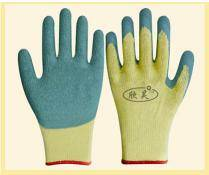 Wholesale latex coated gloves: 10gauge Cotton Latex Coated Safety Work Glove