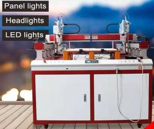 Wholesale flexible led video panels: Special Screw Locking Machine for LED Panel Light with Double Head and Double Working Position