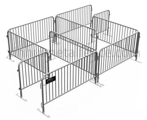 Sell Flat Feet Crowd Control Barriers