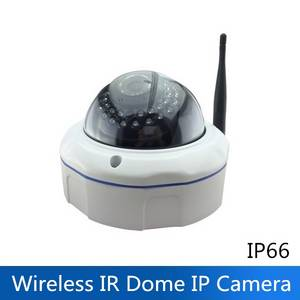 Wholesale low cost cmos camera: 1920x1080 1080P 2MP H.264 Outdoor Wireless WiFi P2P IR Dome IP Security Camera POE Power ONVIF