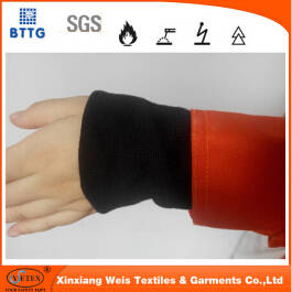 Wholesale fr workwear: Flame Resistant Ribbing for FR Clothing Cuff
