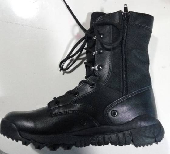 Sell black  leather Martins Military Boots