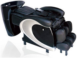 Wholesale shampoo chair: Luxury Salon Shampoo Chair Hair Backwash Massage Chair  XY-8611