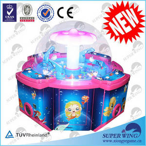 Wholesale dancing game machine: Coin Operated Machine with Colorful Appearance