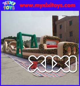 Wholesale inflatable obstacle course: XIXI 2016 Hot Sale Inflatable Military Obstacle Course