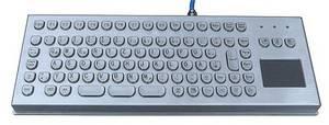Wholesale ip case: Intrinsically Safe Industrial Desk Top Keyboard(X-PP91D)