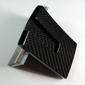 Wholesale business card case: Carbon Fiber Business Card Case, Carbon Fiber Card Holder 3k/XMCOMATE