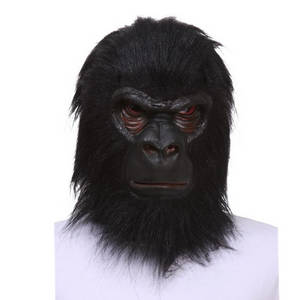 Wholesale adult toy: X-MERRY TOY SALE! Adult Animal Chimp / Monkey / Ape Mask Fancy Dress Latex Mask Halloween Prop