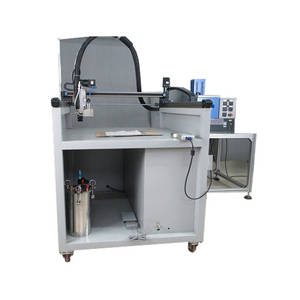 Wholesale Packaging Machinery: Three Axis Hot Melt Glue Dispensing Machine for Cardboard Paper