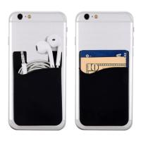 Newest Style Mobile Card Holder Wholesale Fashionable Soft Silicone Smart Cell Phone Wallet 3
