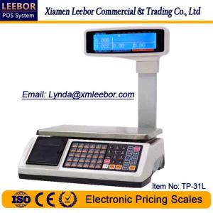 Wholesale standard cash drawer: Pricing/ Counting Scale, Supermarket Retail Cash Register Scales, Receipt Bill Printing LCD Weighing