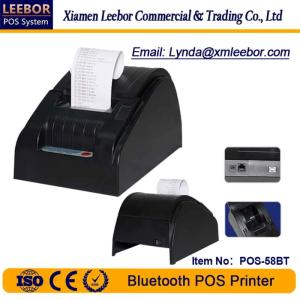 Wholesale mobile pos: 58mm High Speed POS Printer/ Bluetooth Thermal Printer/ Android System/ Connect with Mobile Phone