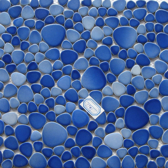 Ceramic Pebble Mosaic Swimming Pool Mosaictile Id 6609259