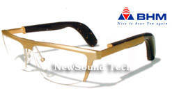 Wholesale spectacle: Bone Conducted Spectacles Hearing Aid Glassess