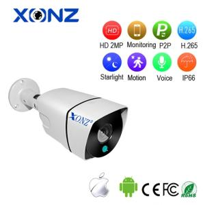 Wholesale color lens: Waterproof Full Color Night Vision 3DNR Star Lens CCTV IP Wifi Bullet Camera