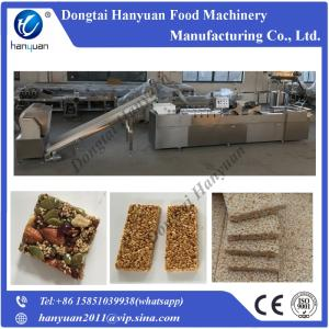 Wholesale sancks making line: Peanut Chikki Granola Bar Making Machine