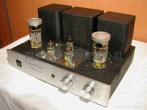 Wholesale saxophone: HIFI Sweet Peach KT88 Tube Amplifier