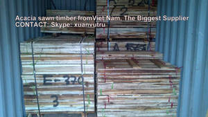 Wholesale sawn timber: Acacia Sawn Timber