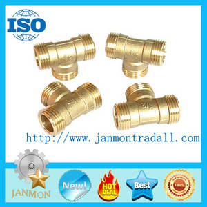 Wholesale steel pipe: Brass/Copper/Stainless Steel Male Tee,Pipe Fittings