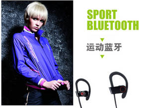 Wholesale stereo headset: New Wireless Bluetooth Headset Sport Handfree Stereo Headphone Colorfull Earphone Universal