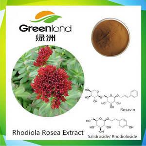 Wholesale rosavin: Rhodiola Rosea Extract,Rhodiola Rosea P.E.,Salidroside 1%-3%,Rosavin 1%-3%