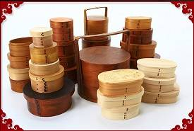 Wholesale Food Storage: Wooden Bento Box