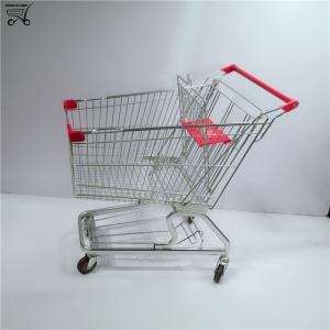 Wholesale trolley: High Quality Four Replacement Wheels Shopping Trolley Cart with Child Seat for Supermarket Shopping