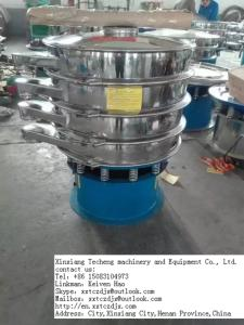 Wholesale manganese dioxide powder: Circular Tumbler Screen Machine for Aginomoto