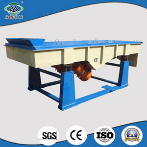 Wholesale linear vibrating sieve: High Efficiency Powder Sand Sieving Screening Machine