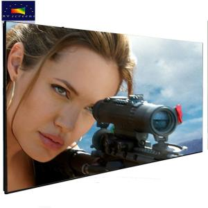 Wholesale projector screen: Xyscreen 120 Inch Frame Black Crystal Alr 4k Laser Projector Projection Screen
