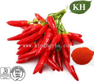 Wholesale red pepper: Capsaicin 1% Red Pepper Extract