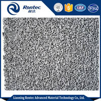 Open Cell Aluminium Foam Board Used for Sound Absorbing Ceilings